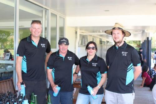Naylor Love is the naming rights sponsor for the TAKA Trust golf tournament. here are some of their crew at last year's tournament